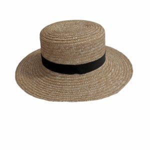 H&M Straw Fedora Hat